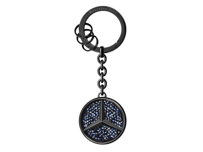 St. Tropez fekete kulcstartó