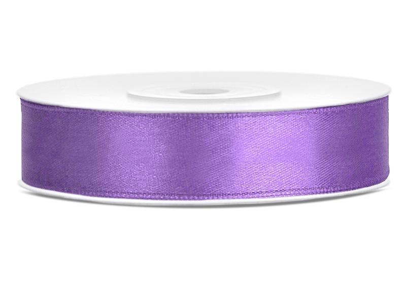 12 mm széles szatén szalag (25 m) – lila