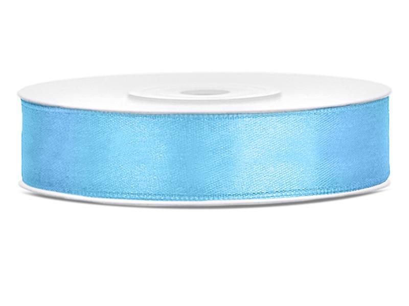 12 mm széles szatén szalag (25 m) – világoskék