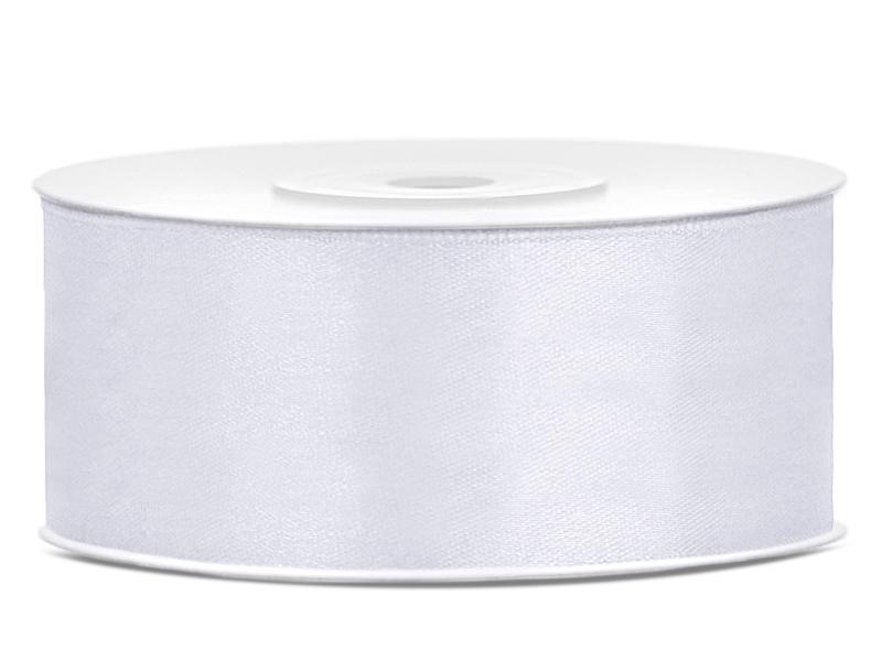 25 mm széles szatén szalag (25 m) – fehér ba4636c2d3