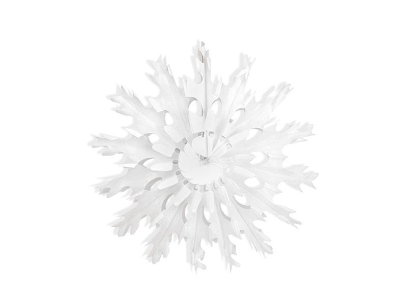 37 cm-es hópihe rozetta – fehér