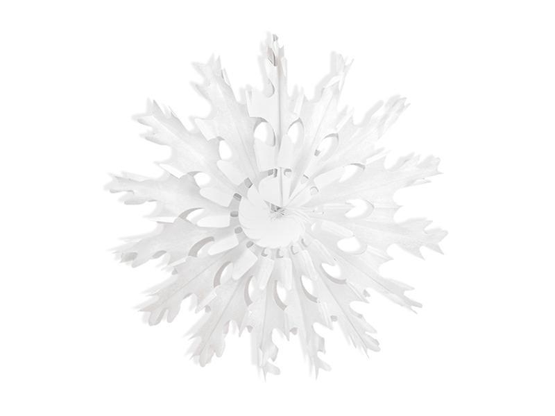 45 cm-es hópihe rozetta – fehér