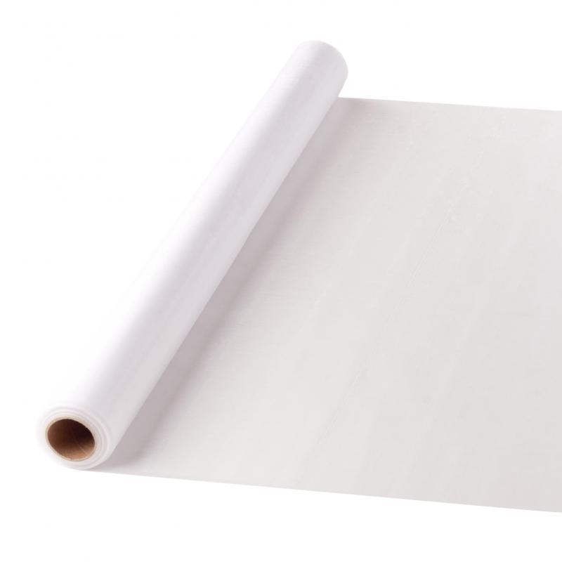 47 cm széles organza futó (10 m) – fehér (ÚJ)