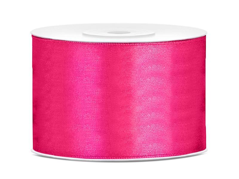 50 mm széles szatén szalag (25 m) – pink