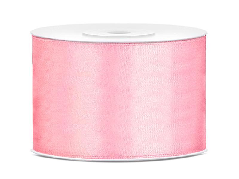 50 mm széles szatén szalag (25 m) – rózsaszín