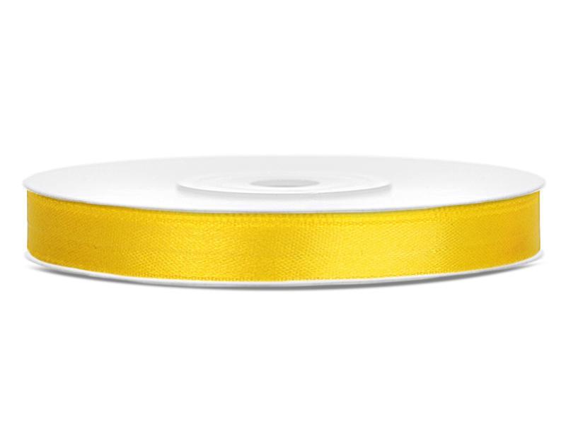 6 mm széles szatén szalag (25 m) – citromsárga f88cbc1281