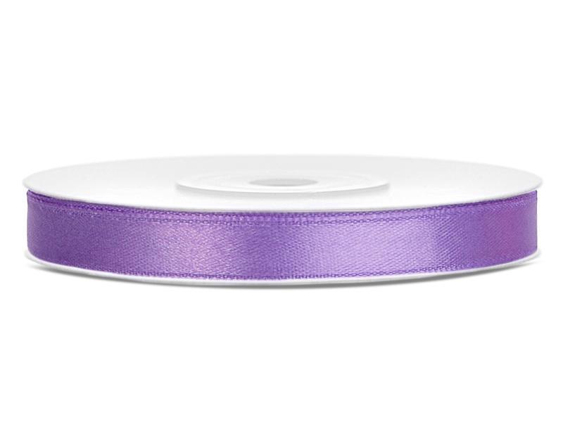 6 mm széles szatén szalag (25 m) – lila