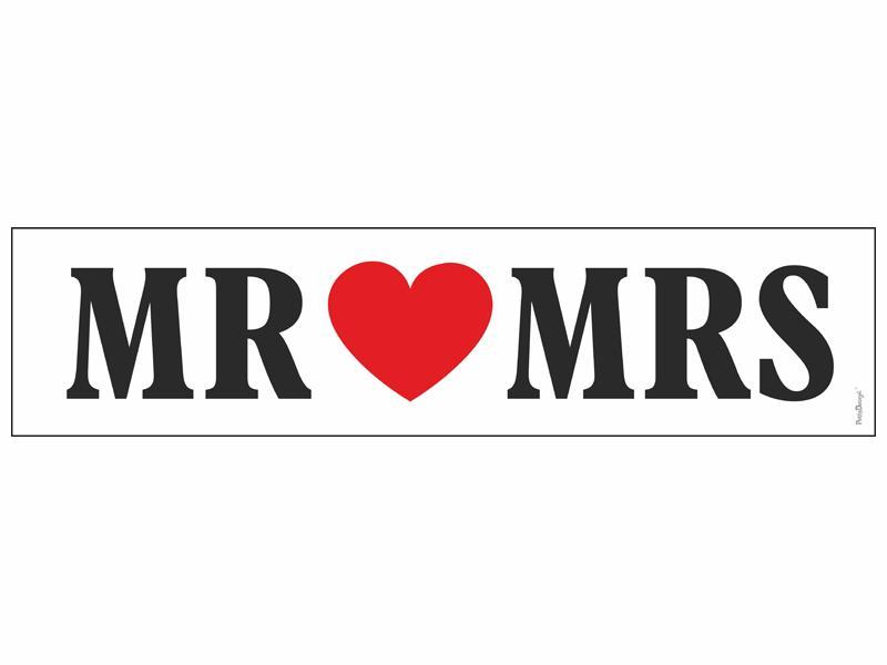 autó rendszám – Mr és Mrs
