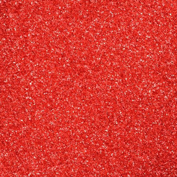 dekorhomok (550 g) – piros