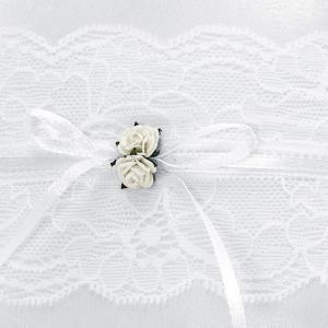 gyűrűpárna – vintage, fehér