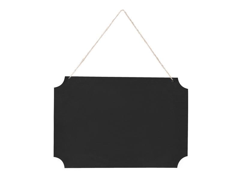 feliratozható fekete tábla – akasztós