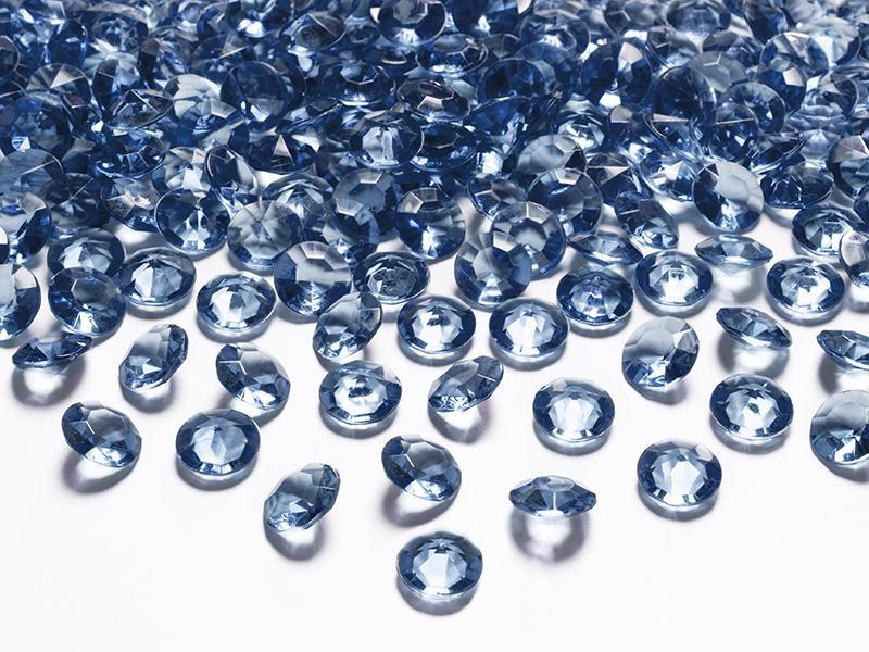 gyémánt dekorkő 12 mm (100 db/cs) – tengerészkék
