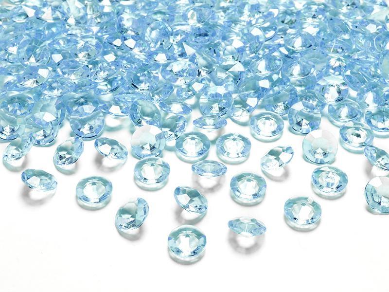 gyémánt dekorkő 12 mm (100 db/cs) – türkiz