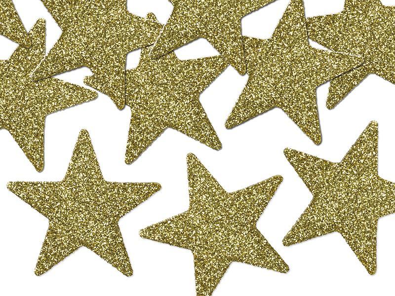 karácsonyi csillag dísz (8 db/cs) – arany