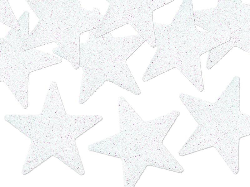 karácsonyi csillag dísz (8 db/cs) – fehér