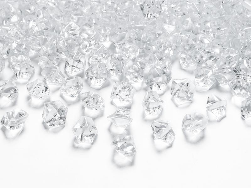 kristály dekorkő 14 x 11 mm (40 db/cs) – színtelen