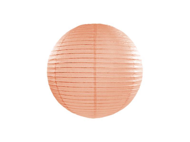 lampion gömb 25 cm – barack