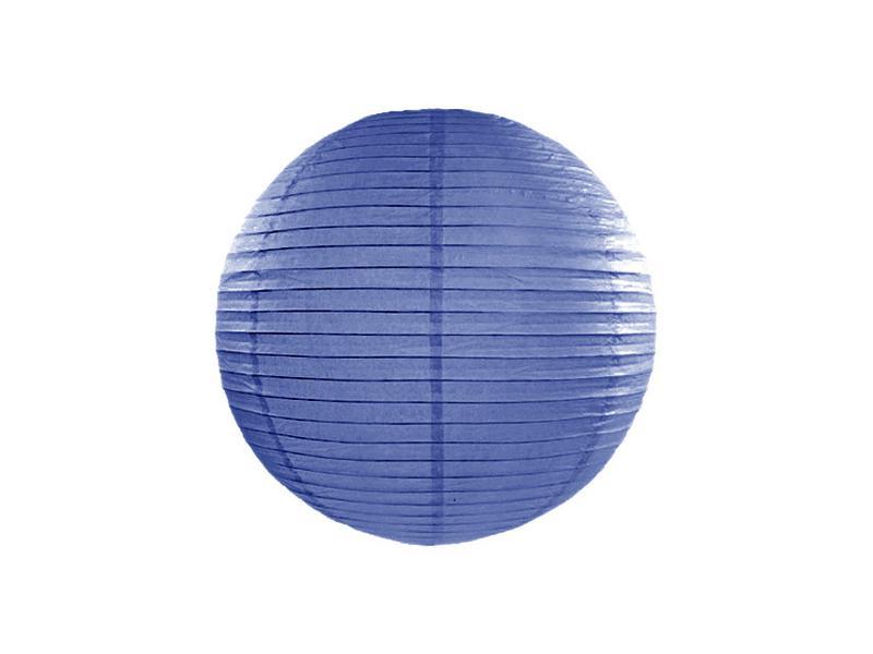 lampion gömb 25 cm – királykék