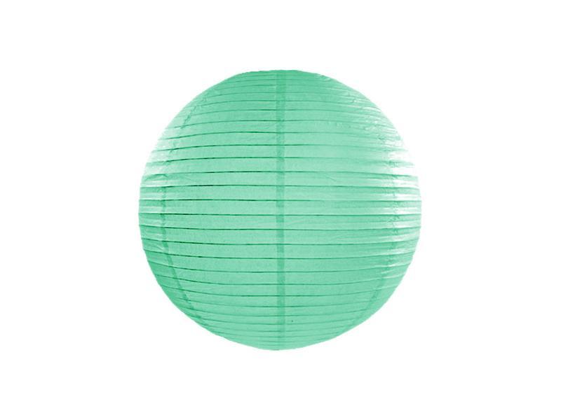 lampion gömb 25 cm – menta