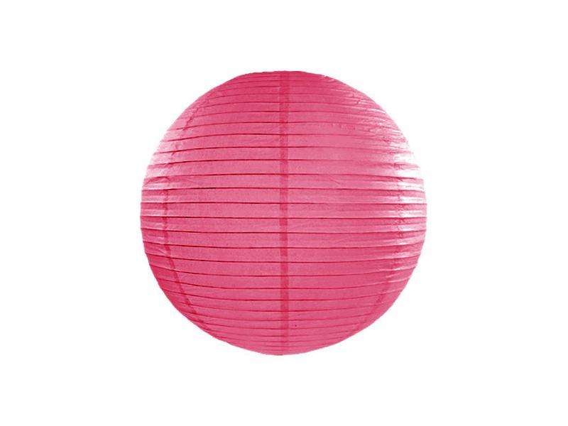 lampion gömb 25 cm – pink