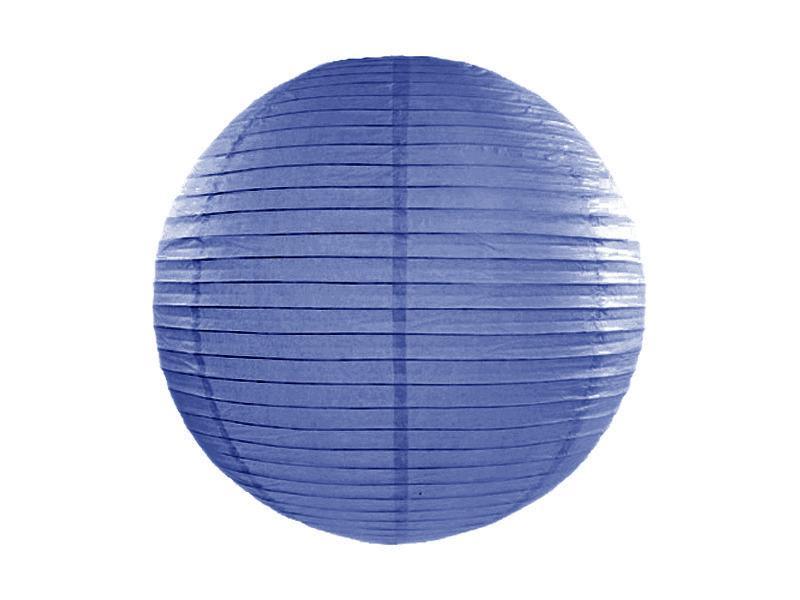 lampion gömb 35 cm – királykék