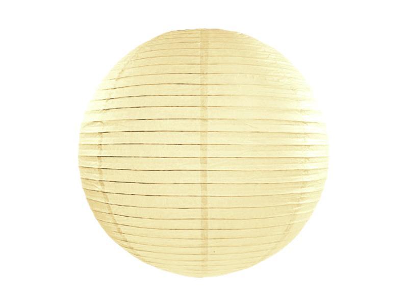 lampion gömb 35 cm – krém