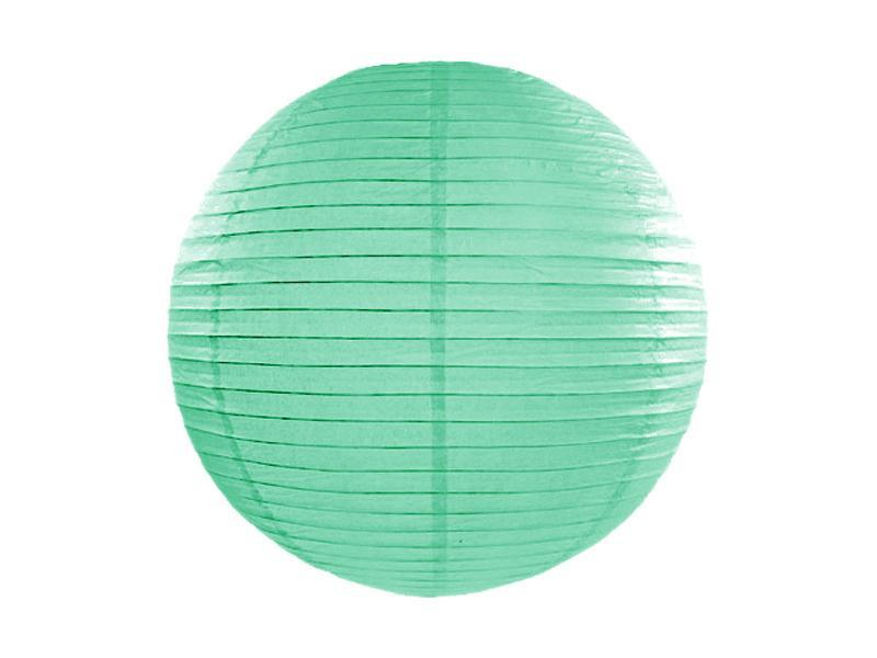 lampion gömb 35 cm – menta