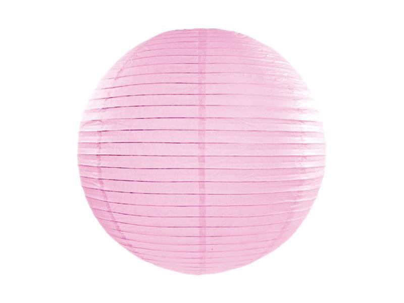 lampion gömb 35 cm – rózsaszín