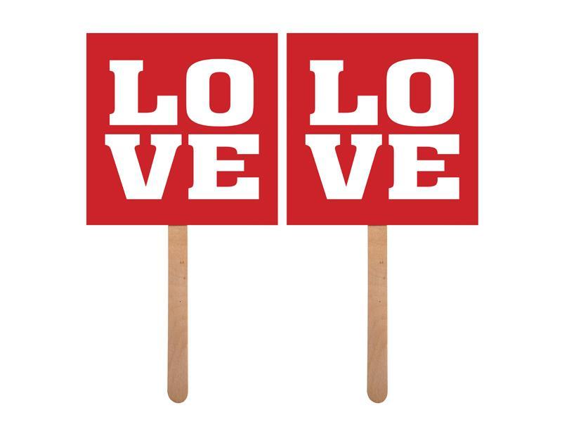 LOVE táblák