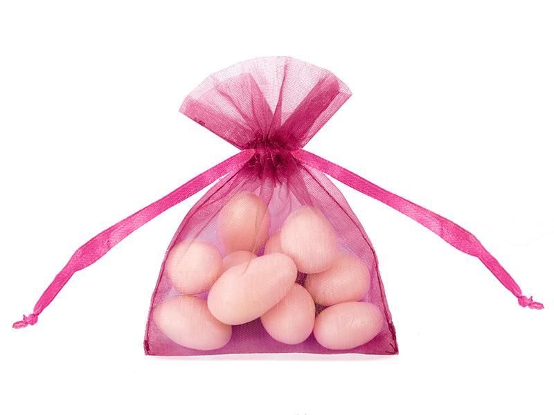 organza tasak 7,5x10 cm (20 db/cs) – pink