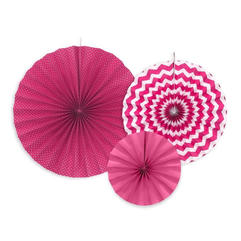 papír rozetta (3 db/cs) – pink