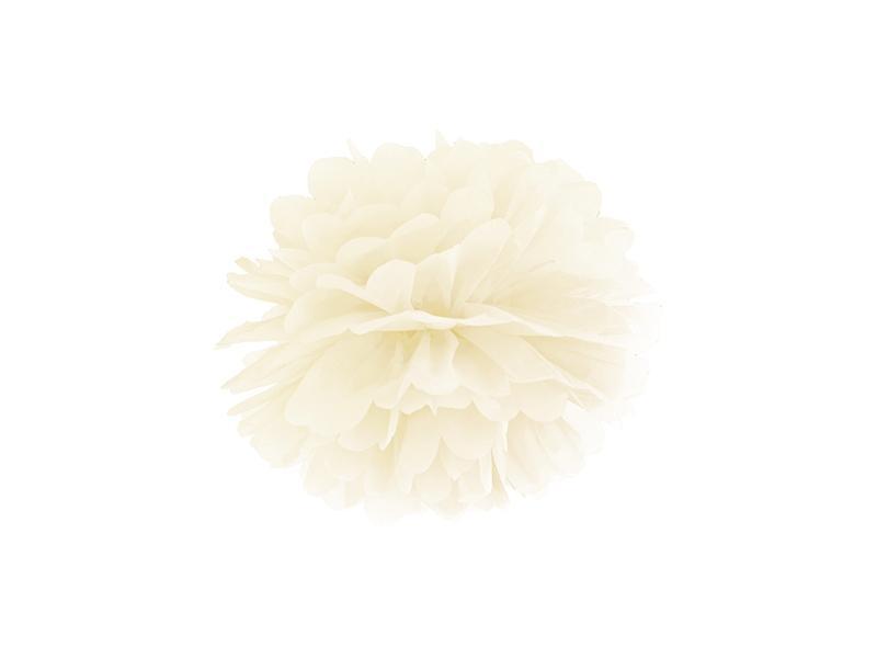 pom-pom 25 cm – krém