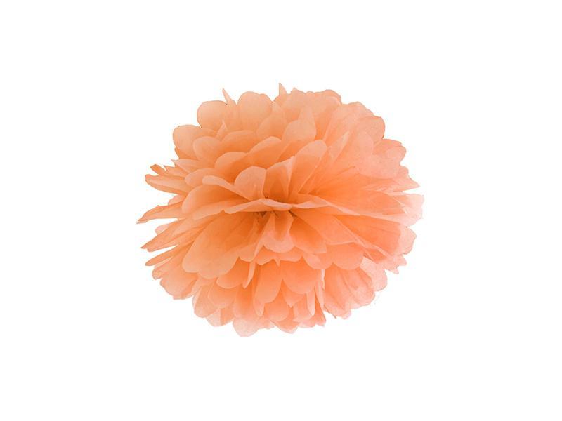 pom-pom 25 cm – narancs