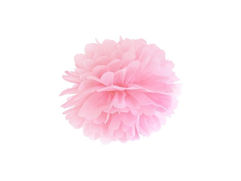 pom-pom 25 cm – rózsaszín