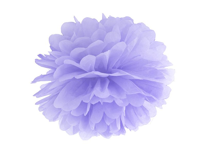 pom-pom 35 cm – lila