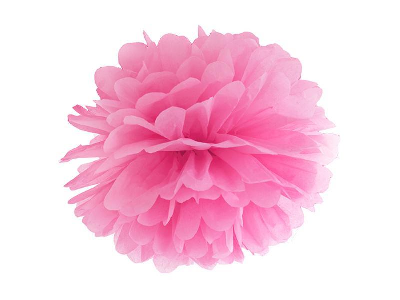 pom-pom 35 cm – pink