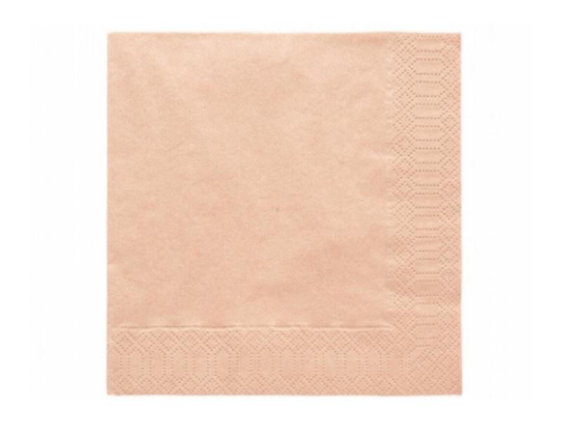 szalvéta 33x33 cm 3 rétegű (20 db/cs) – barack