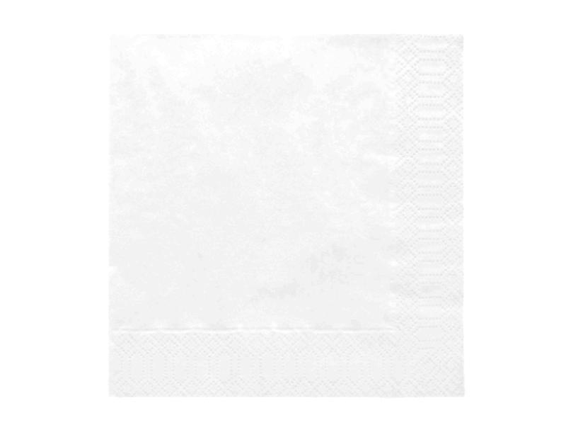szalvéta 33x33 cm 3 rétegű (20 db/cs) – fehér