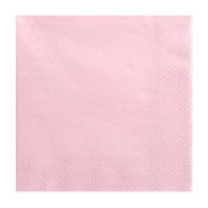 szalvéta 33x33 cm 3 rétegű (20 db/cs) – rózsaszín