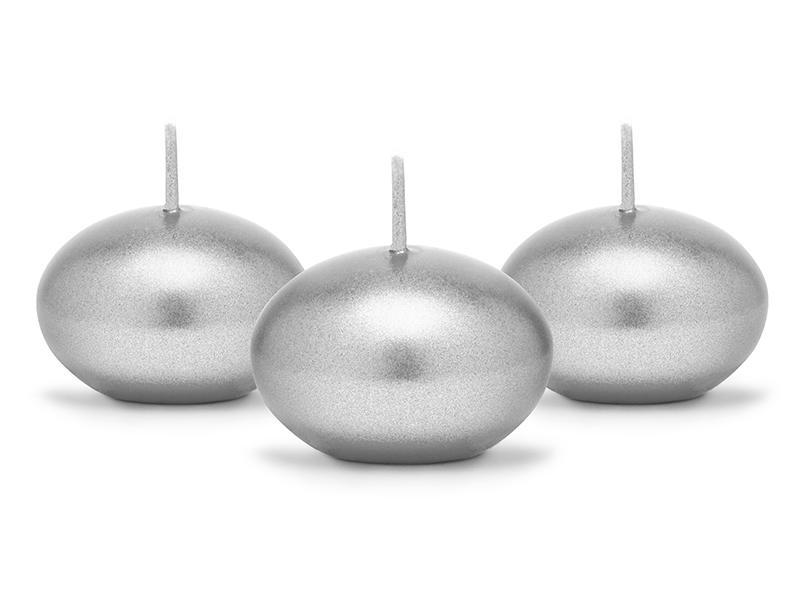 úszógyertya (4 órás) – ezüst