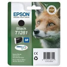 Epson T1281 fekete tintapatron