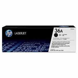 HP CB436A eredeti fekete festékkazetta (36A)