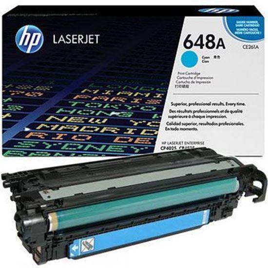 HP CE261A (648A) kék toner