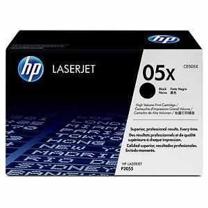 HP CE505X eredeti fekete festékkazetta (05X)