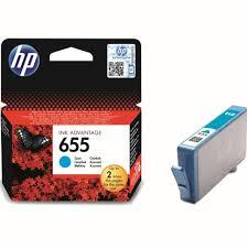 HP CZ110AE kék tintapatron (655)