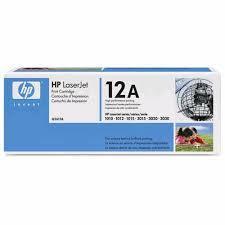 HP Q2612A eredeti fekete festékkazetta (12A)