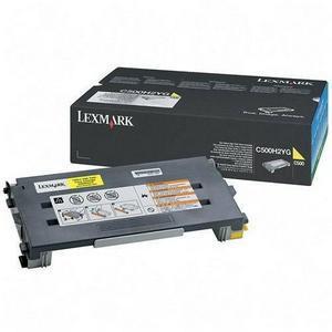Lexmark C500H2YG sárga eredeti toner