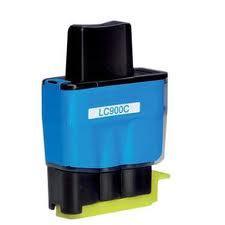 Utángyártott Brother LC900C kék tintapatron