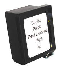 Utángyártott Canon BC-02 fekete tintapatron