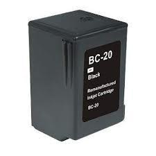 Utángyártott Canon BC-20 fekete tintapatron